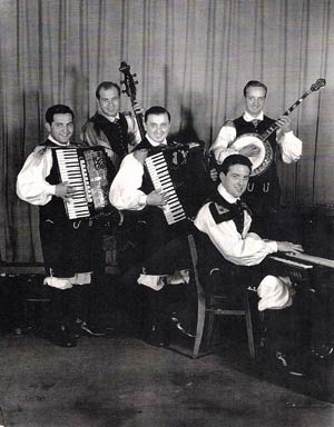 Frankie Yankovic band in the 1950's